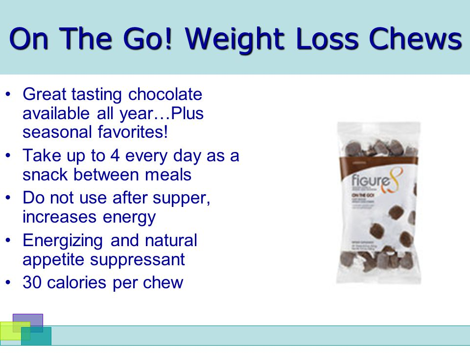 On The Go! Weight Loss Chews