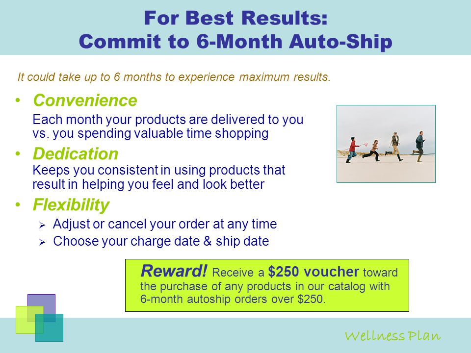 For Best Results: Commit to 6-Month Auto-Ship
