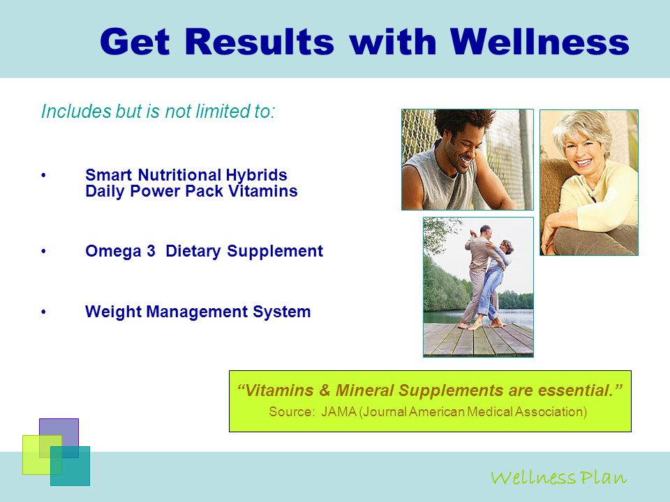 Get Results with Wellness