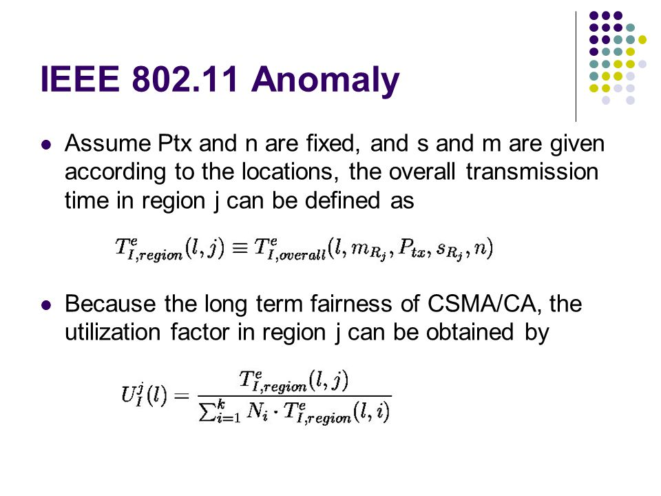 IEEE 802.11 Anomaly