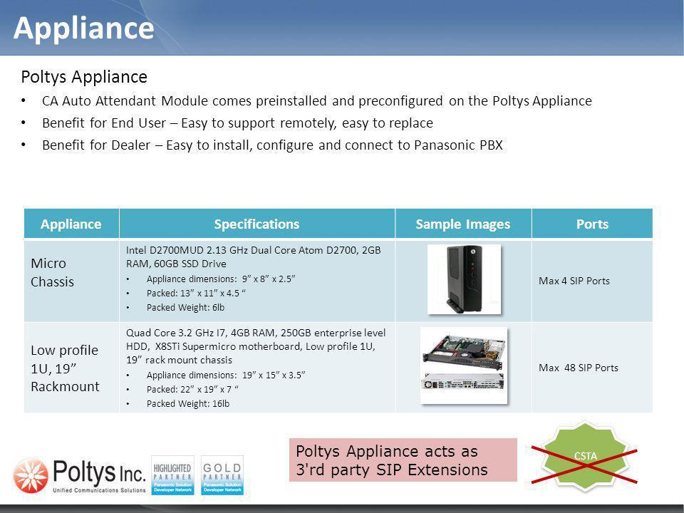 Appliance Poltys Appliance