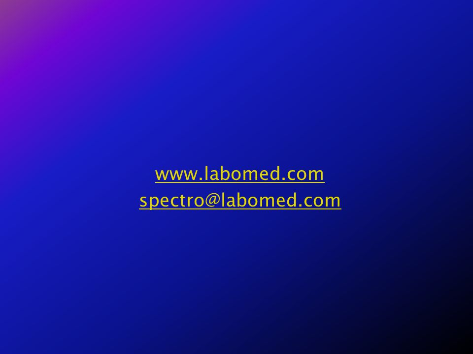 www.labomed.com spectro@labomed.com