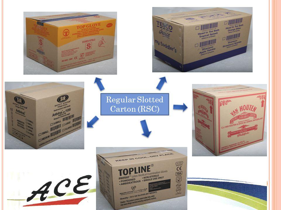 Regular Slotted Carton (RSC)