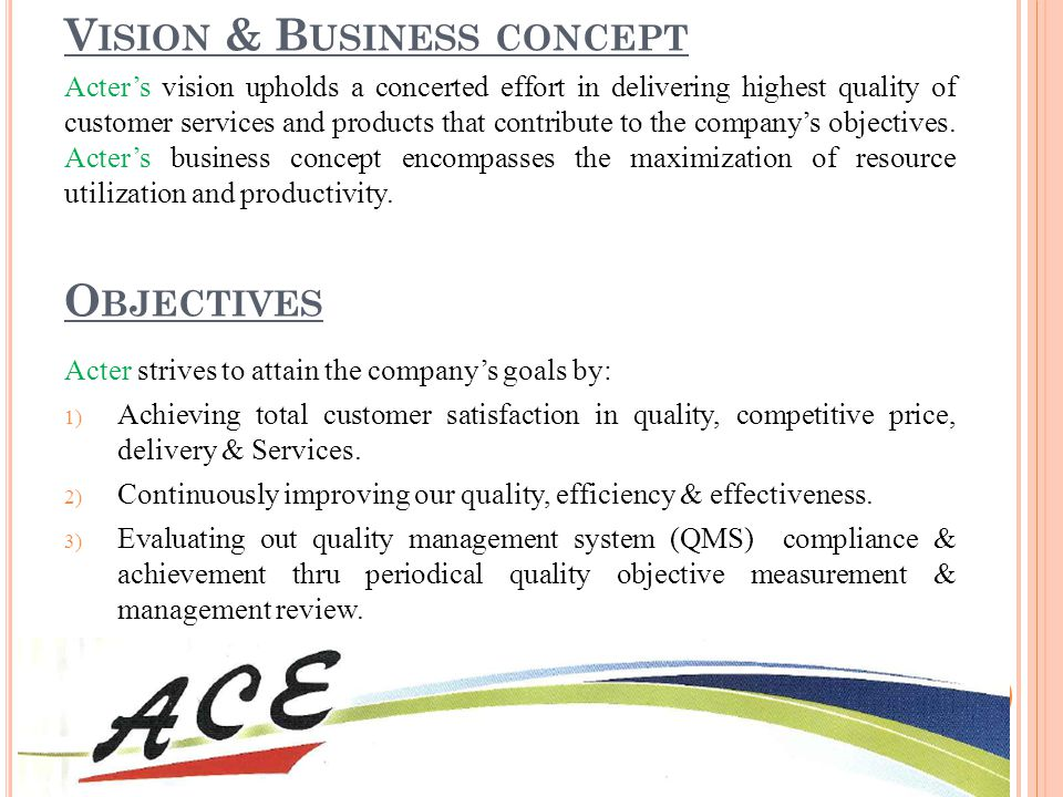 Vision & Business concept