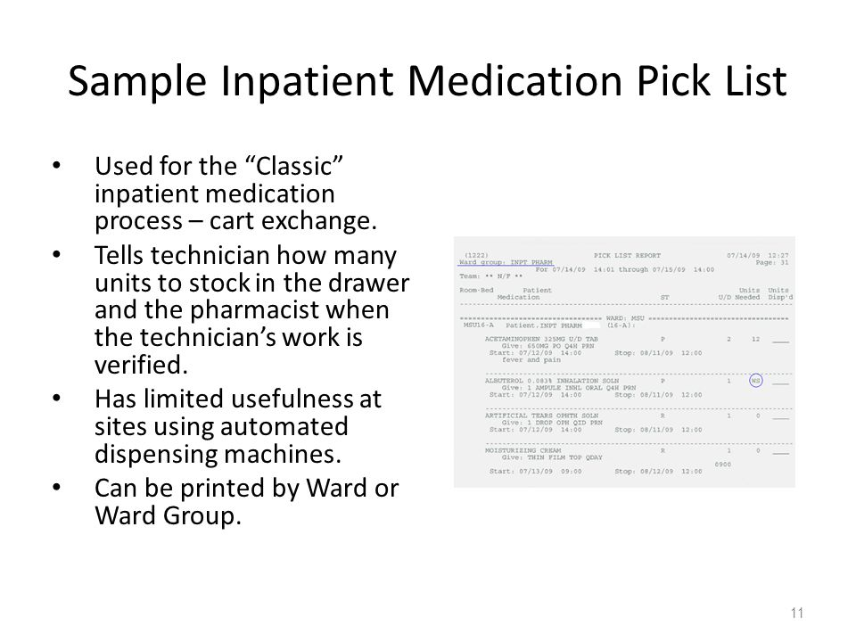 Inpatient Medication Inventory Management: Ward Stock - Ppt Video