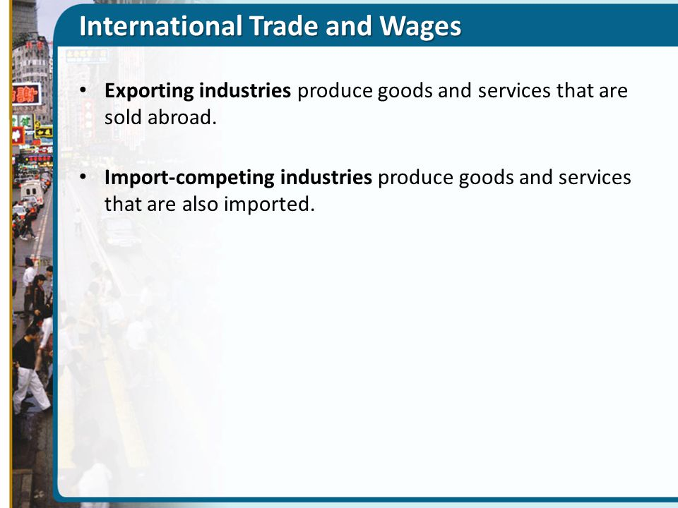 International Trade and Wages