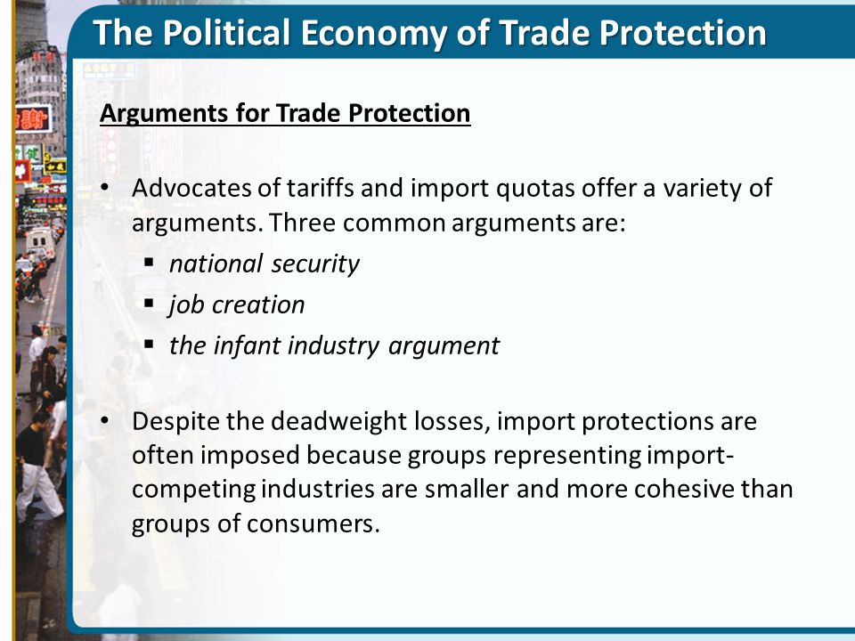 The Political Economy of Trade Protection