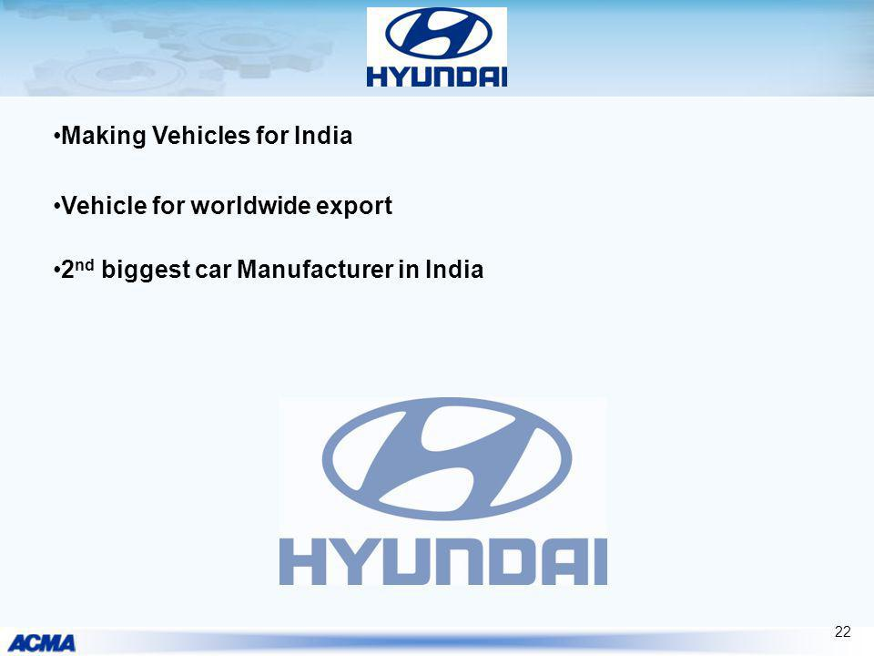Making Vehicles for India