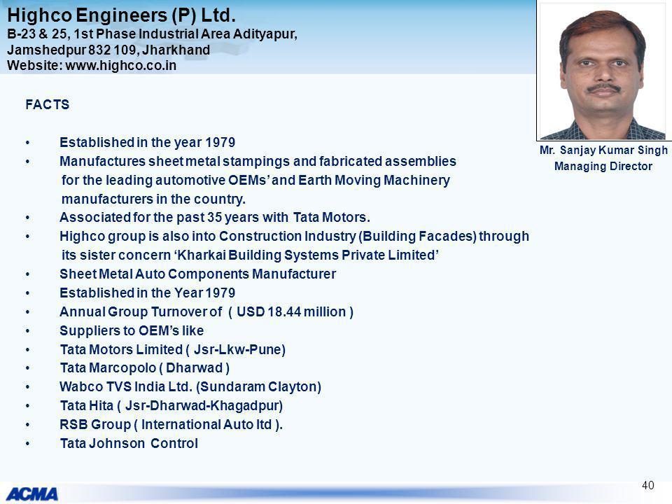 Highco Engineers (P) Ltd