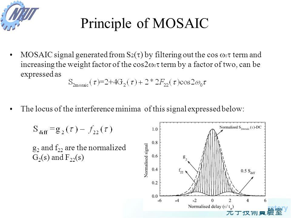 Principle of MOSAIC