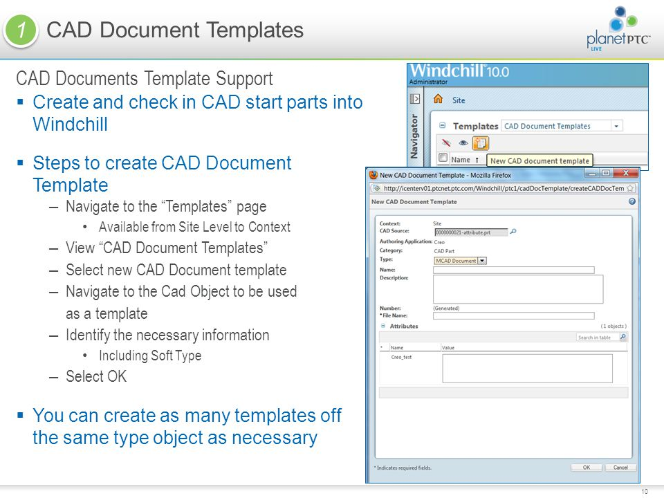 CAD Document Templates