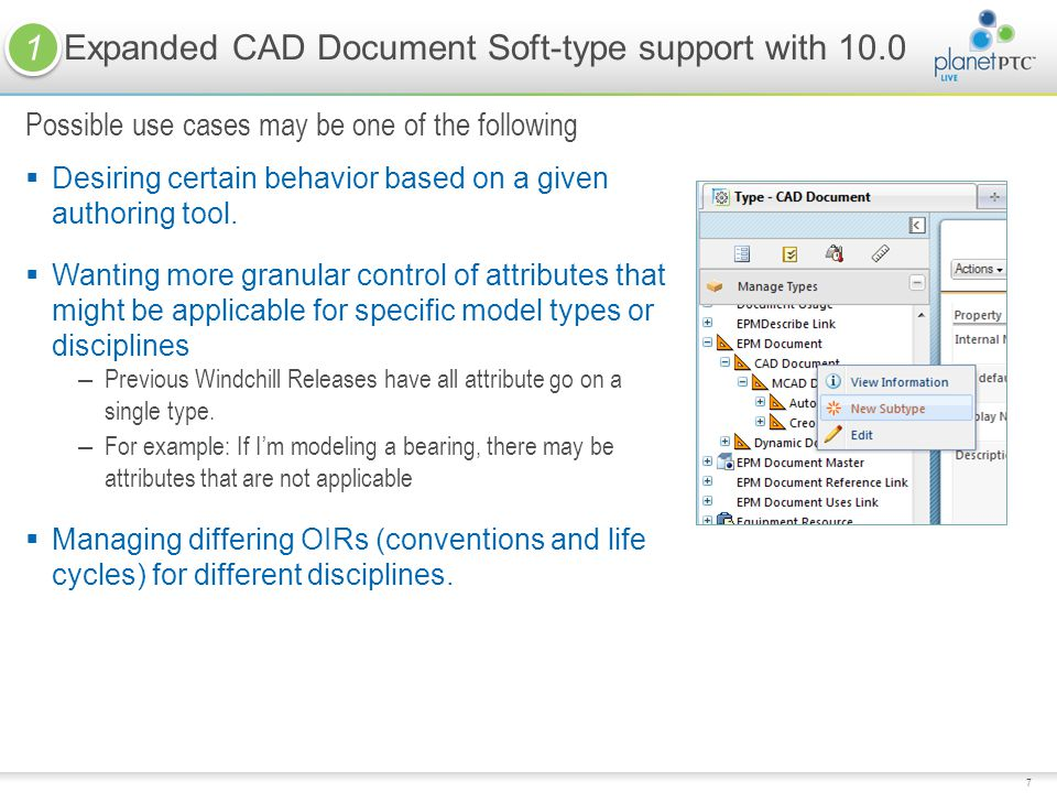 Expanded CAD Document Soft-type support with 10.0