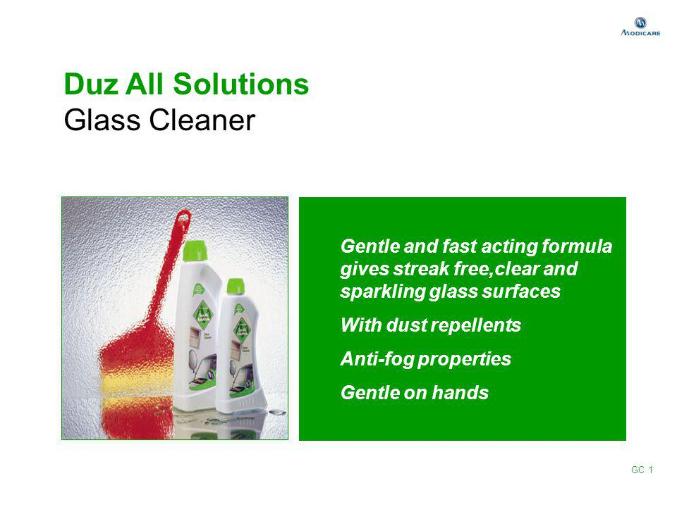 Duz All Solutions Glass Cleaner