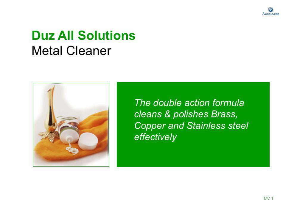 Duz All Solutions Metal Cleaner