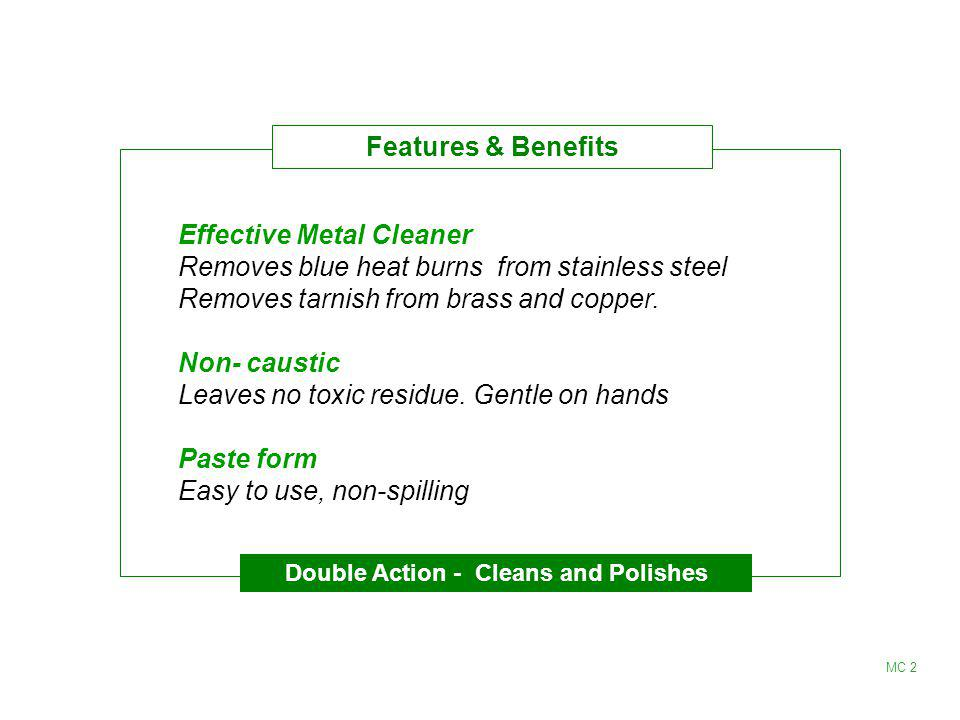 Double Action - Cleans and Polishes
