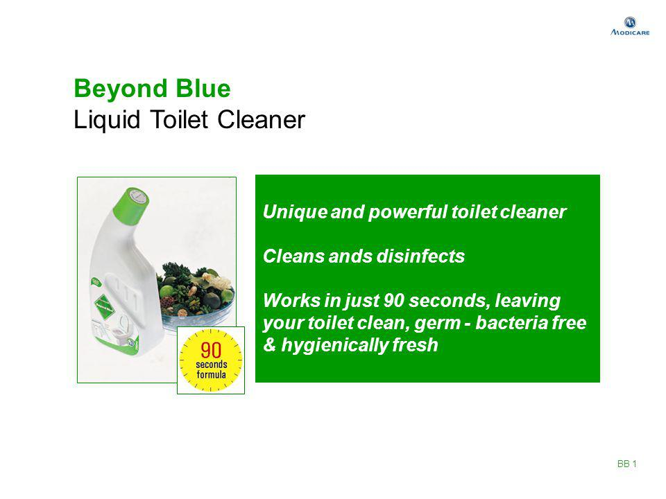 Beyond Blue Liquid Toilet Cleaner Unique and powerful toilet cleaner
