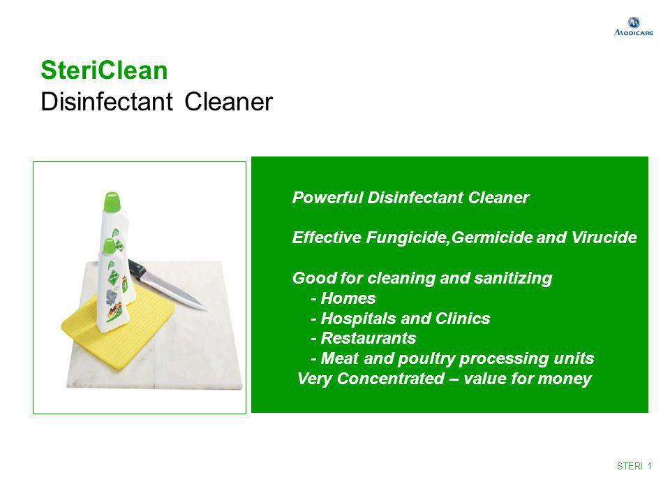 SteriClean Disinfectant Cleaner Powerful Disinfectant Cleaner