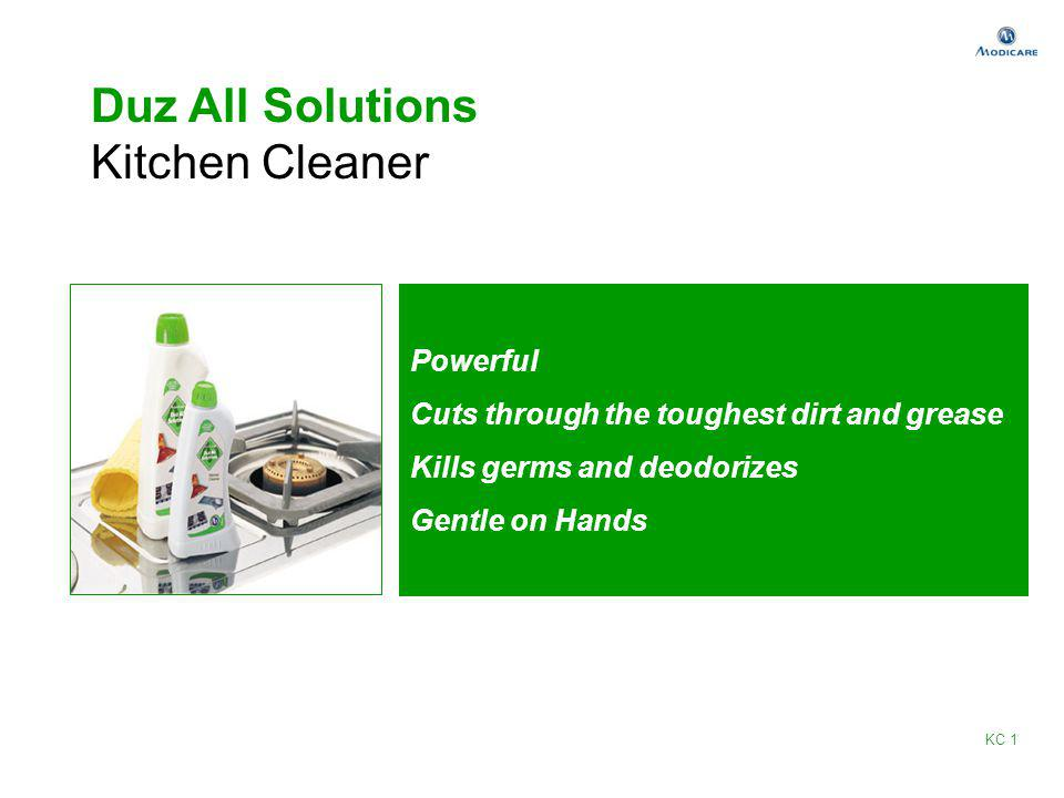 Duz All Solutions Kitchen Cleaner Powerful