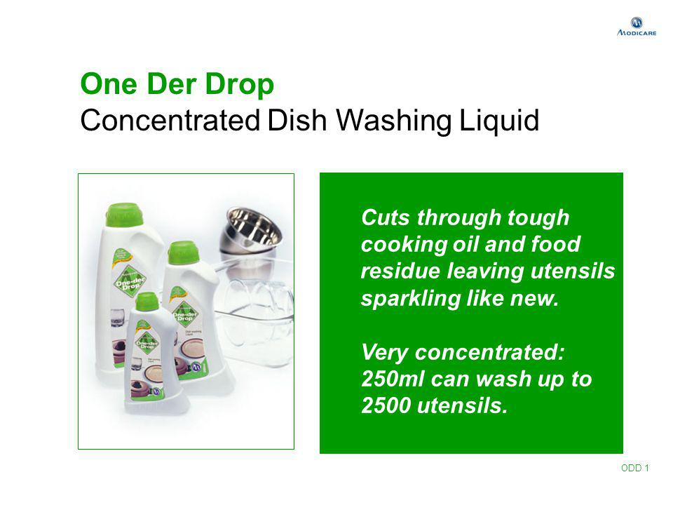 Concentrated Dish Washing Liquid