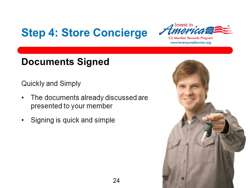 Step 4: Store Concierge Documents Signed Quickly and Simply