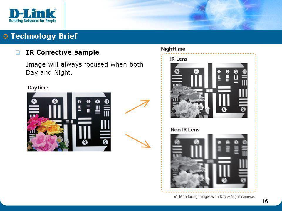 Technology Brief IR Corrective sample