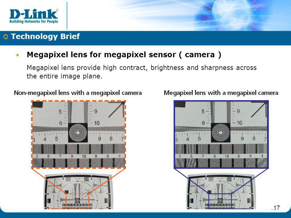Megapixel lens for megapixel sensor ( camera )