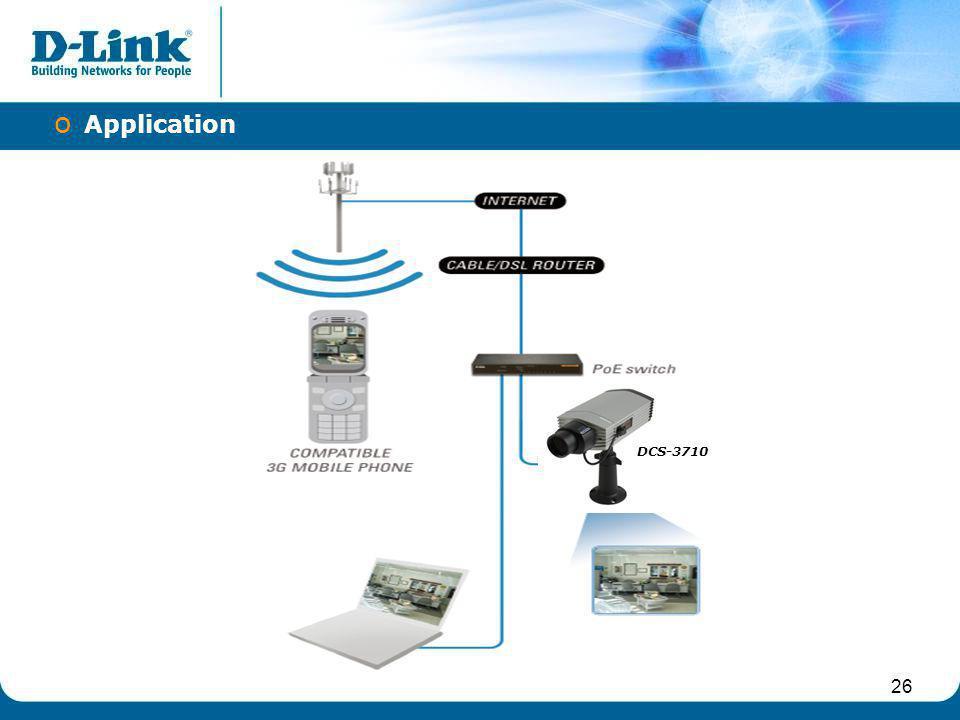 Application DCS-3710