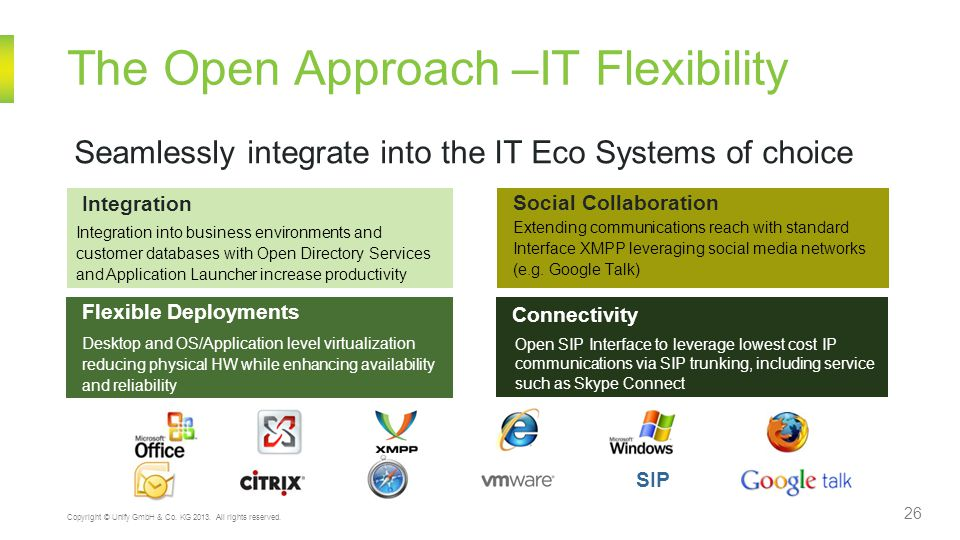 The Open Approach –IT Flexibility