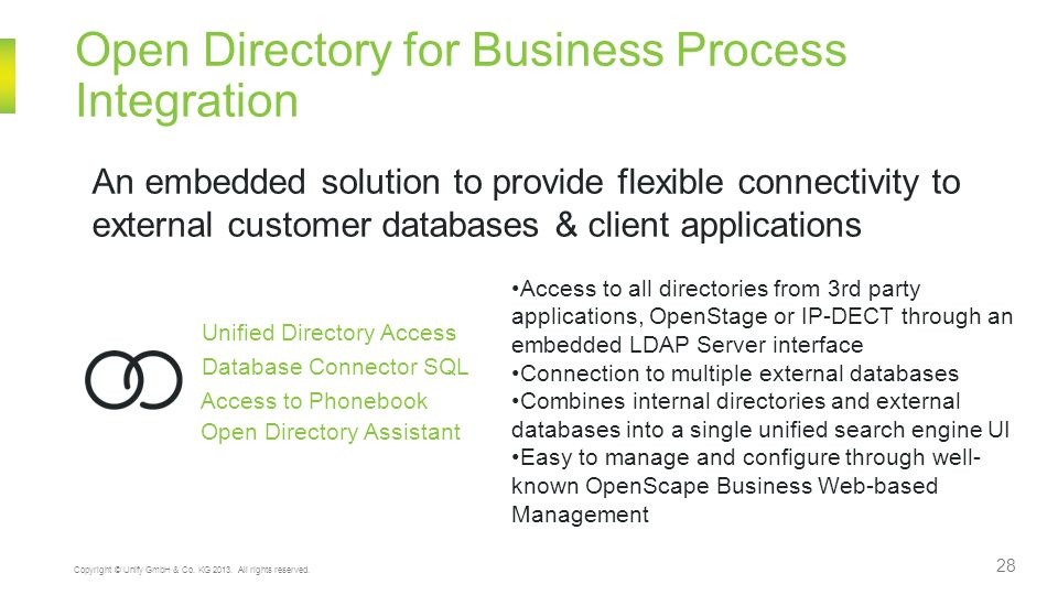 Open Directory for Business Process Integration