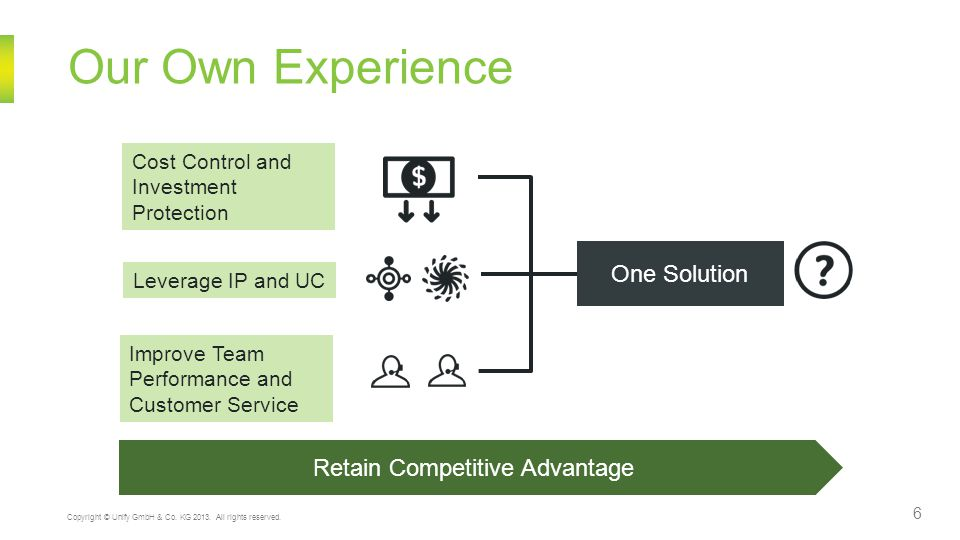 Retain Competitive Advantage