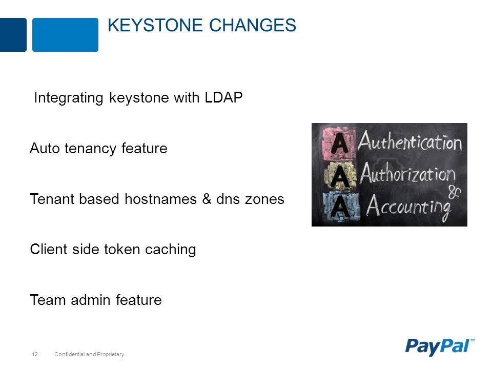 Keystone Changes Integrating keystone with LDAP Auto tenancy feature