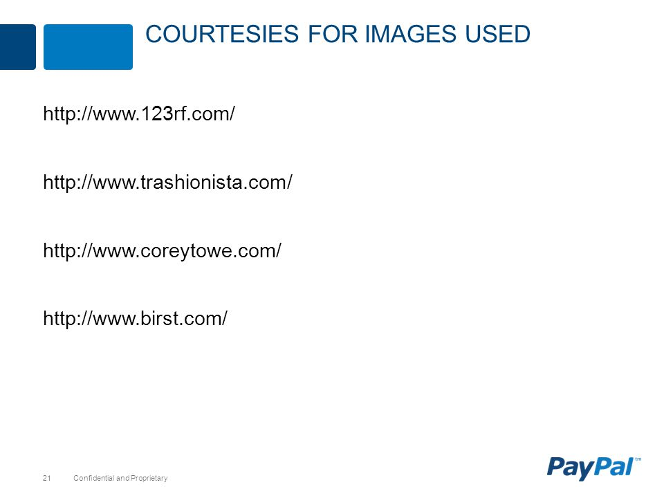 Courtesies for images Used