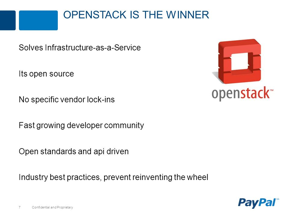 Openstack is the winner