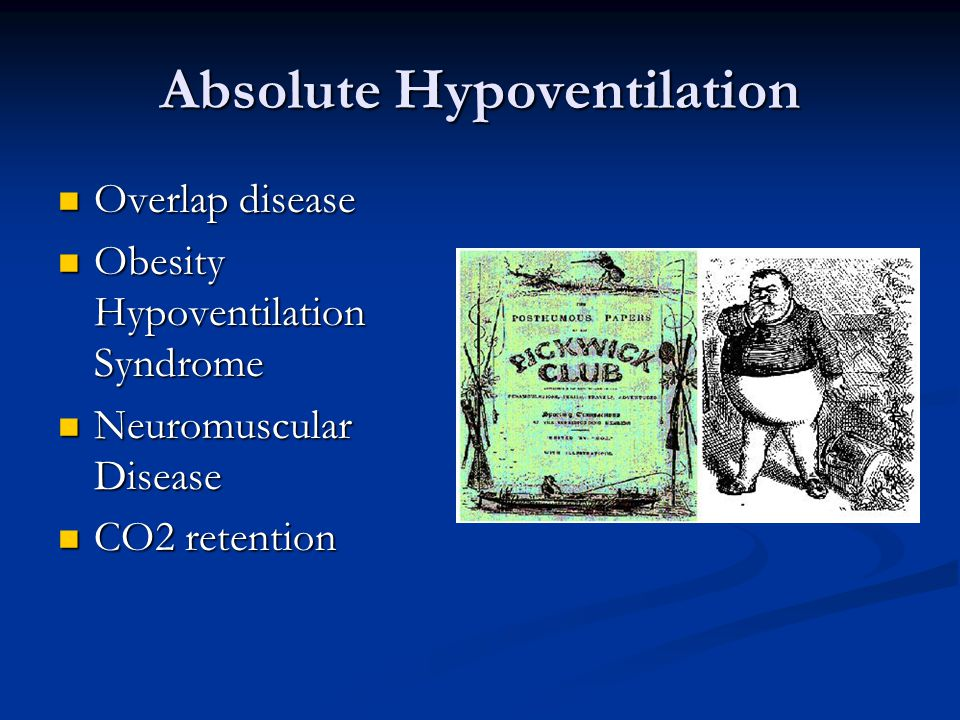 Absolute Hypoventilation