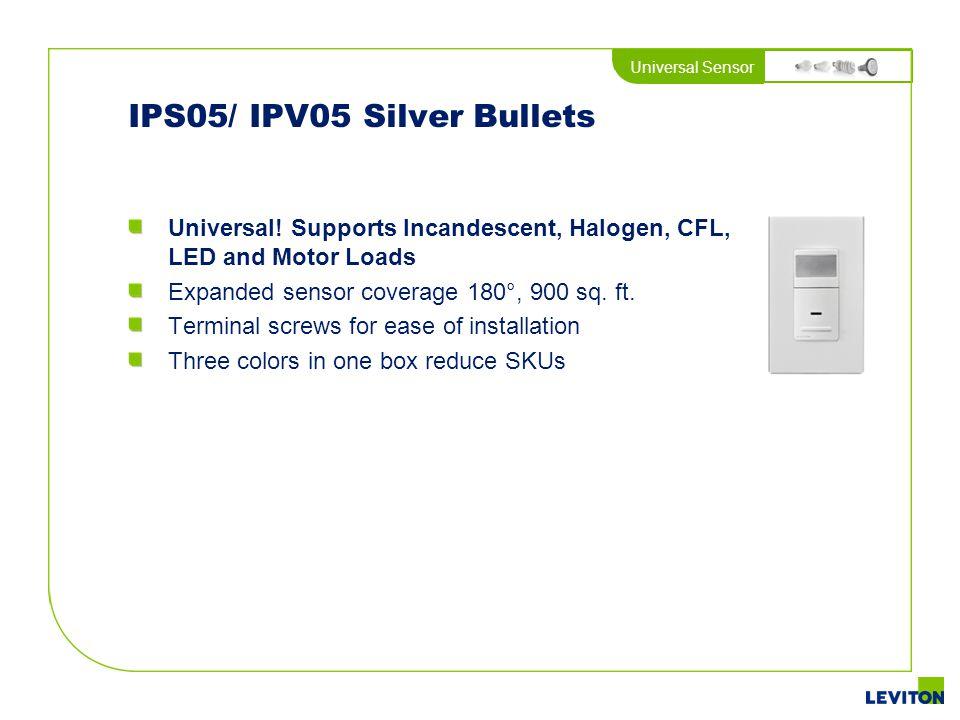 IPS05/ IPV05 Silver Bullets