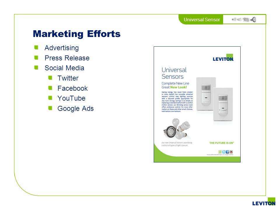 Marketing Efforts Advertising Press Release Social Media Twitter