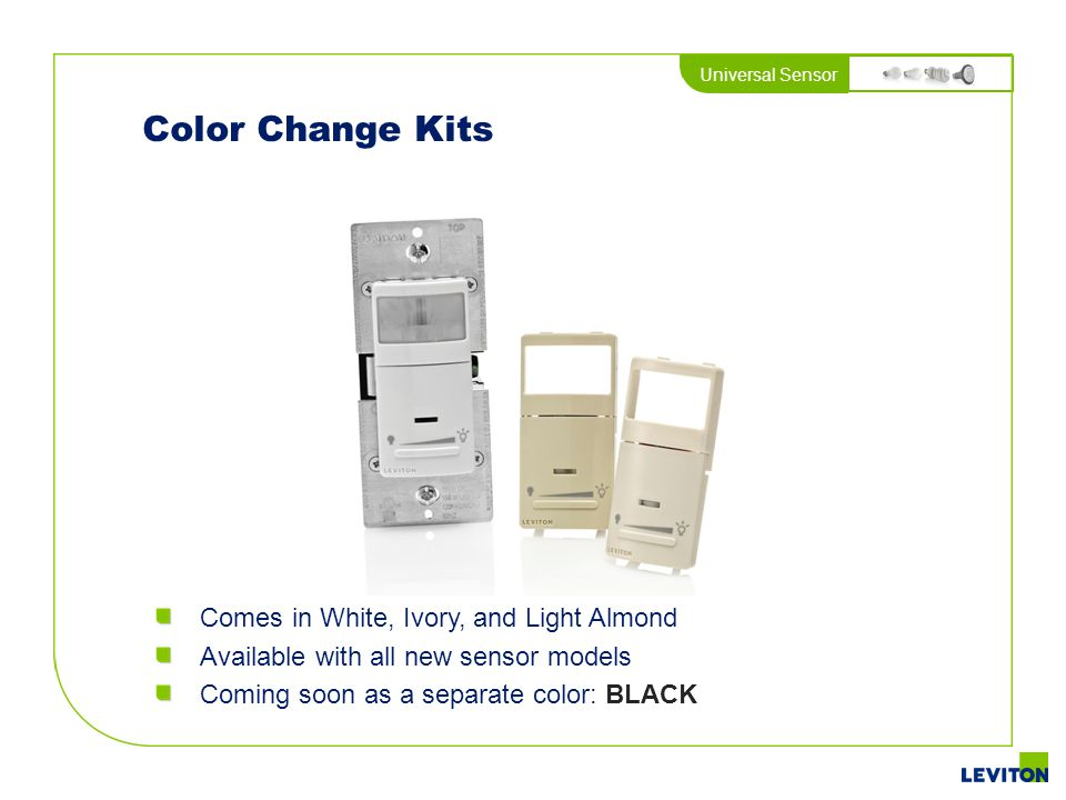 Color Change Kits Comes in White, Ivory, and Light Almond