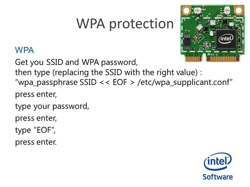 WPA protection