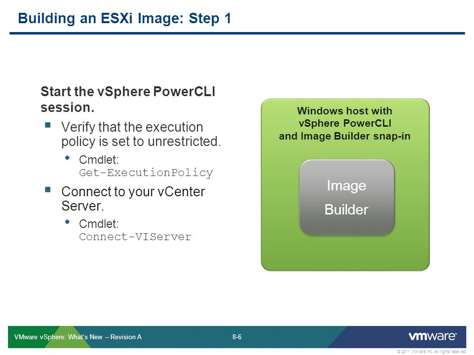 Building an ESXi Image: Step 1