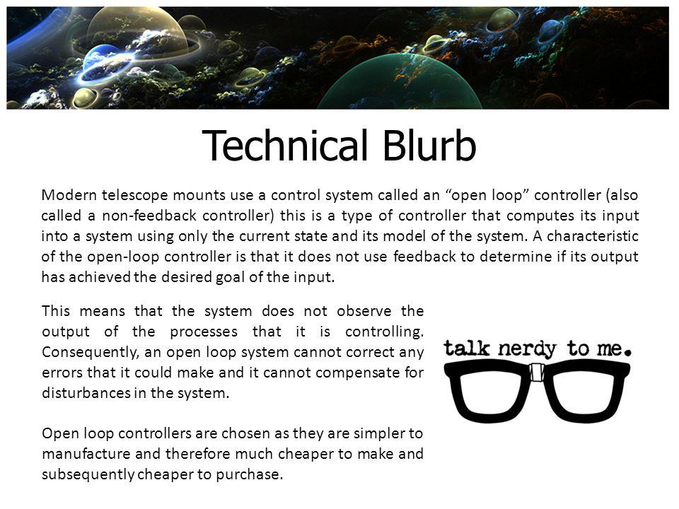 Technical Blurb