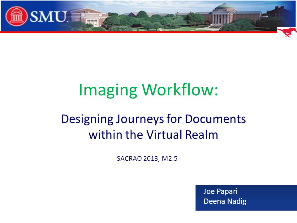 Designing Journeys for Documents within the Virtual Realm