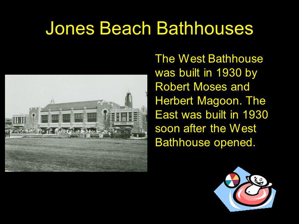 Jones Beach Bathhouses