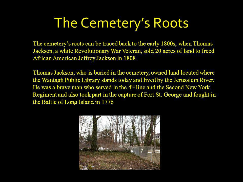 The Cemetery's Roots