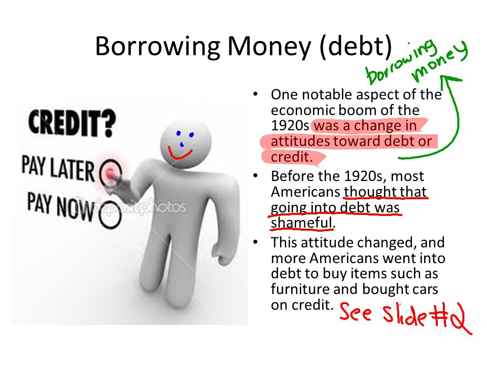 Borrowing Money (debt)