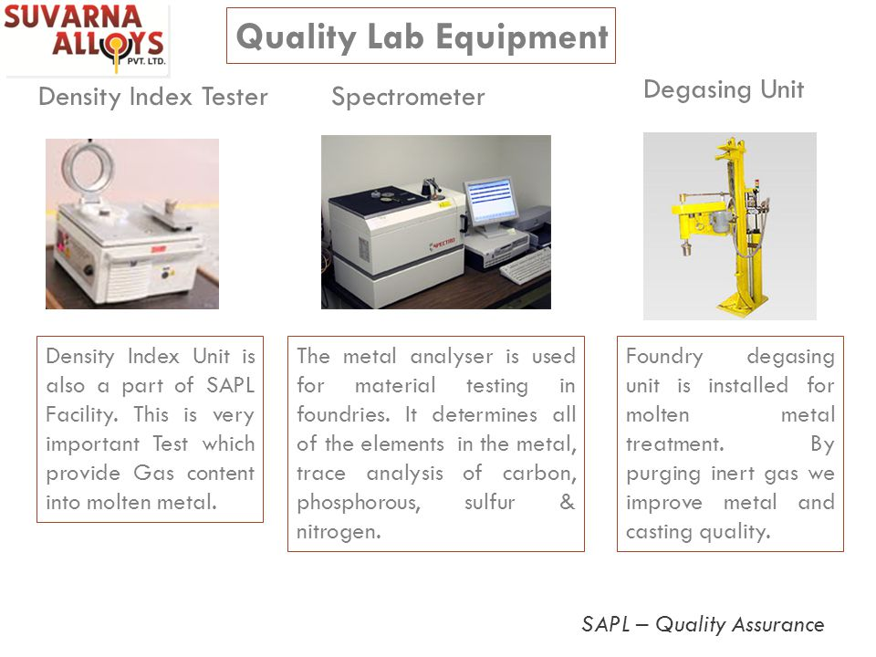 Quality Lab Equipment Degasing Unit Density Index Tester Spectrometer