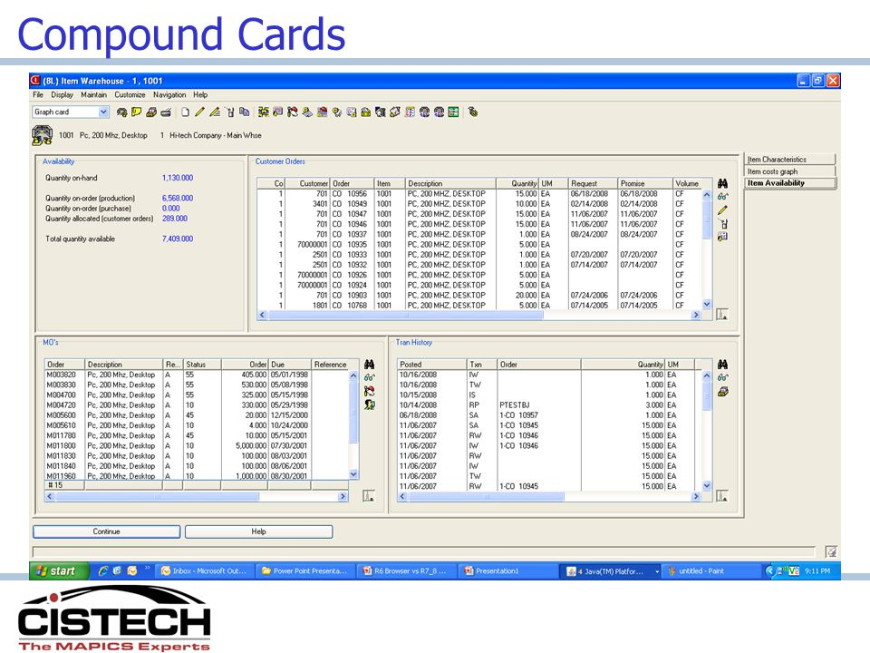 Compound Cards