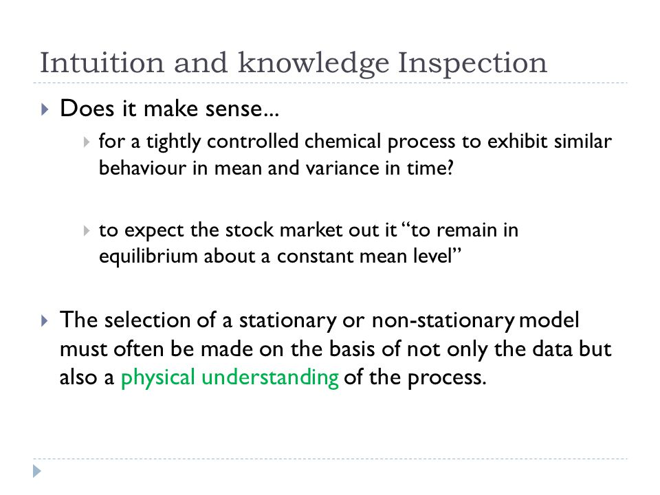 Intuition and knowledge Inspection