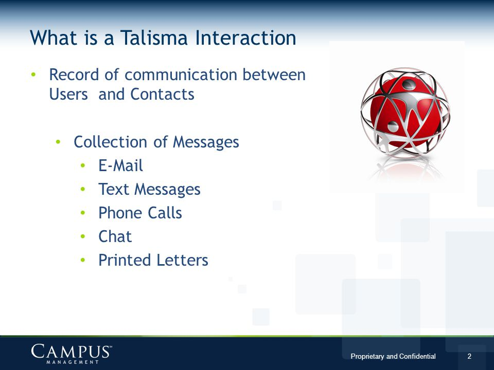 What is a Talisma Interaction