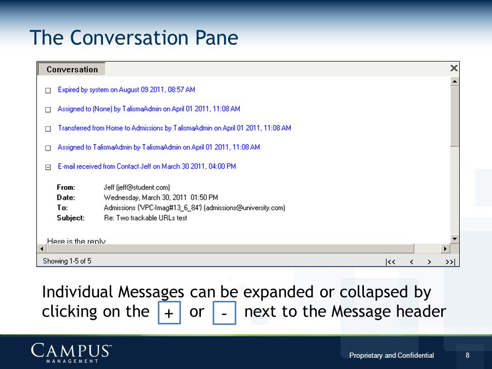 The Conversation Pane + -