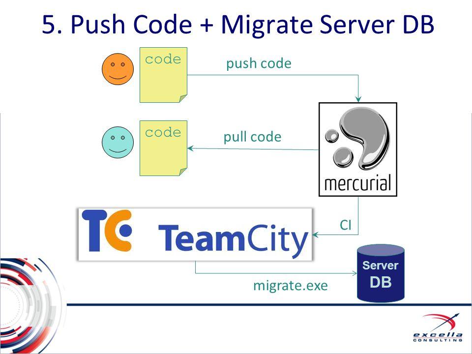 5. Push Code + Migrate Server DB